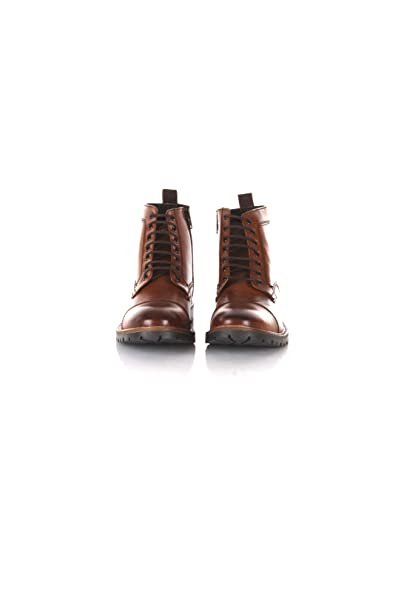 3057bad72cee Base London Men Tan Leather  Brigade  Lace Up Boots  Base London ...