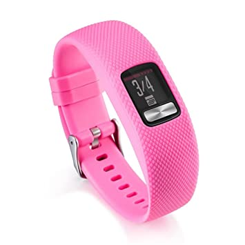 Correa de reloj para Garmin Vivofit 4, VNEIRW Hombre Mujer Suave Deporte Silicona Reloj de