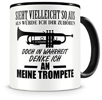 Samunshi Ich denke an meine Orgel Musik Instrument Tasse Kaffeetasse Teetasse