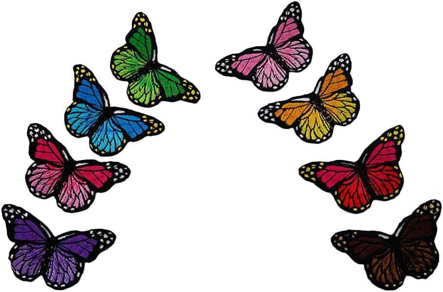 SUPVOX 16 Piezas de Hierro en Parches en Forma de Mariposa Parches ...