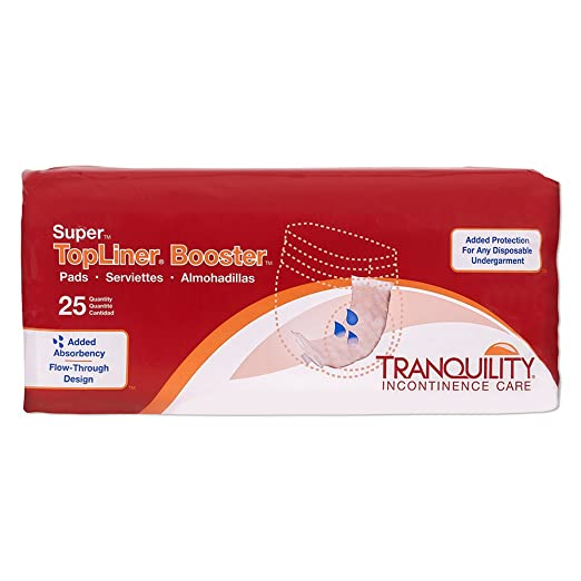 Amazon.com: Tranquility TopLiner® Disposable Booster Pads - Regular (14