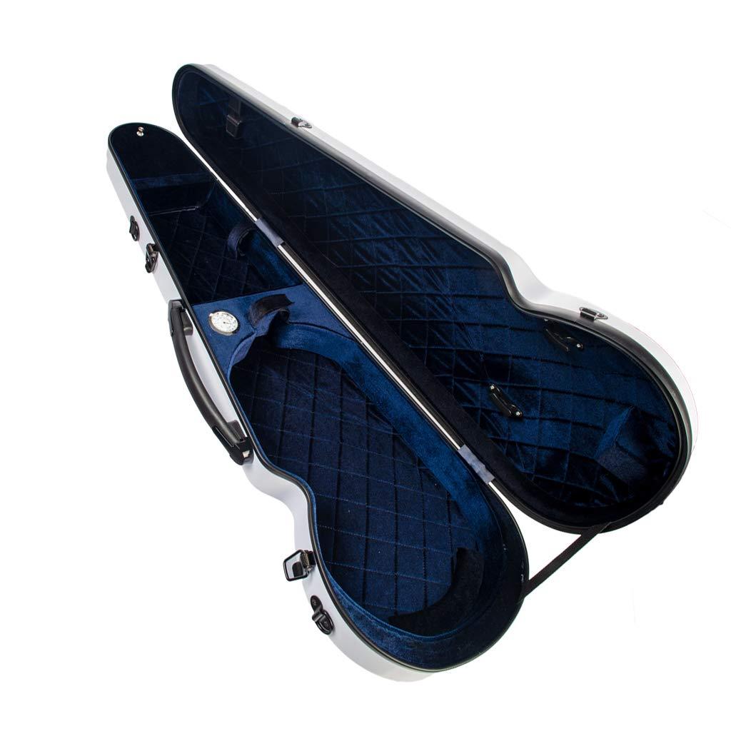 78x24x11,5cm Noir FLAMEER Sac de Protection pour Violon avec Poign/ée Etui pour Violon avec Hygrom/ètre Int/égr/é D/ébutants Amateur Double Sangle