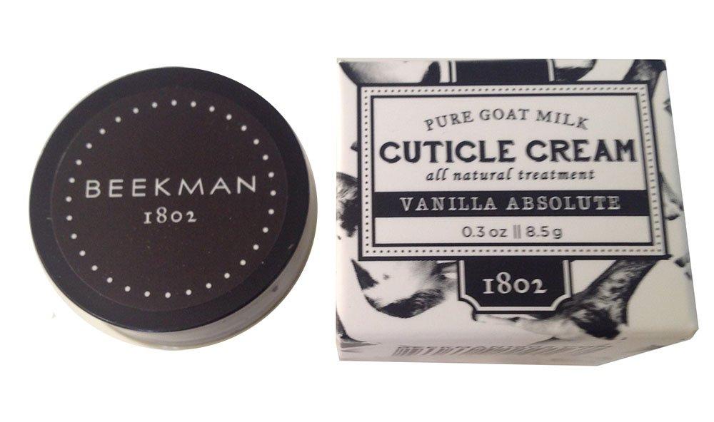 Beekman 1802 Vanilla Absolute Pure Goat Milk Cuticle Cream 0.3 ounces by Beekman 1802