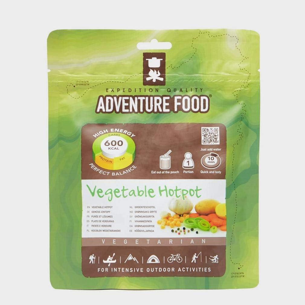 REAL TURMAT Zucchini Mais Eintopf Trekking Mahlzeit Outdoor Essen Nahrung Vegan