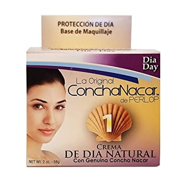 Concha Nacar De Perlop Protective Day Cream No.1 Original Formula, 2 Ounce