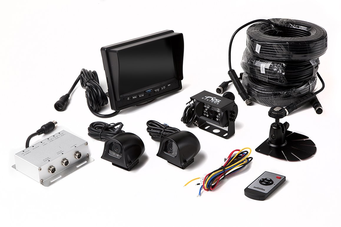 Rear View Safety RVS-770616N Backup Camera System with 7'' TFT LCD Display and Side Cameras by Rear View Safety (Image #6)