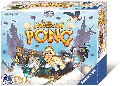 Ravensburger 26006 Médieval Pong - Juego de Mesa con Familia y Amigos, Ideal para Jugar al Aire Libre: Kramer , Wolfgang: Amazon.es: Juguetes y juegos
