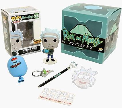 Funko Rick & Morty - Caja para misterio de lujo (incluye pop ...