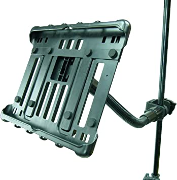 """Mic Stand Tablet Holder for Microsoft Surface Pro 4 12.3/"""" Heavy Duty Music"""