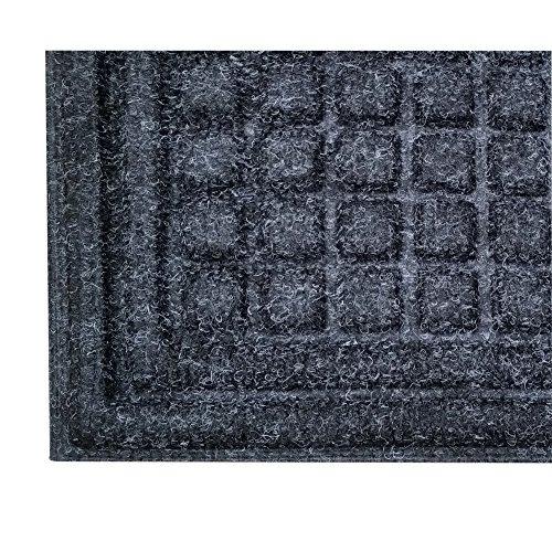 Cactus Mat Onyx Carpet Enviro Tuff Indoor/Outdoor Mat - 3'L x 5'W ()