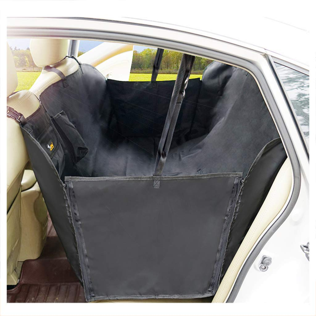 Black 150X135CM Black 150X135CM BYCDD Dog Back Seat Cover Predector, Pet Seat Covers Thickening Waterproof Scratch Proof Nonslip Dog Hammock for Cars Trucks and SUVs,Black_150X135CM