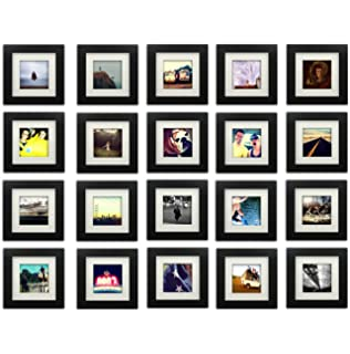 20 set tiny mighty frames wood square instagram photo frame 6x6