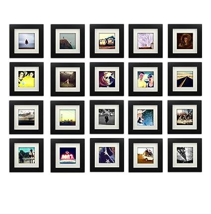 Amazon.com - 20-set, Tiny Mighty Frames - Wood Square Instagram ...