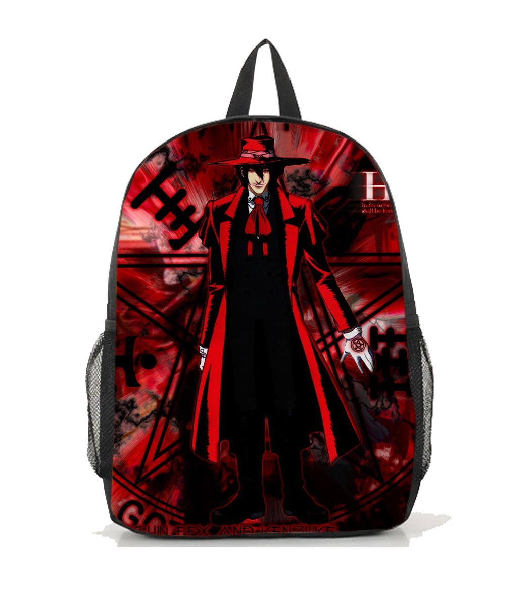 Dreamcosplay Anime Hellsing Alucard Logo New Backpack Bag cosplay