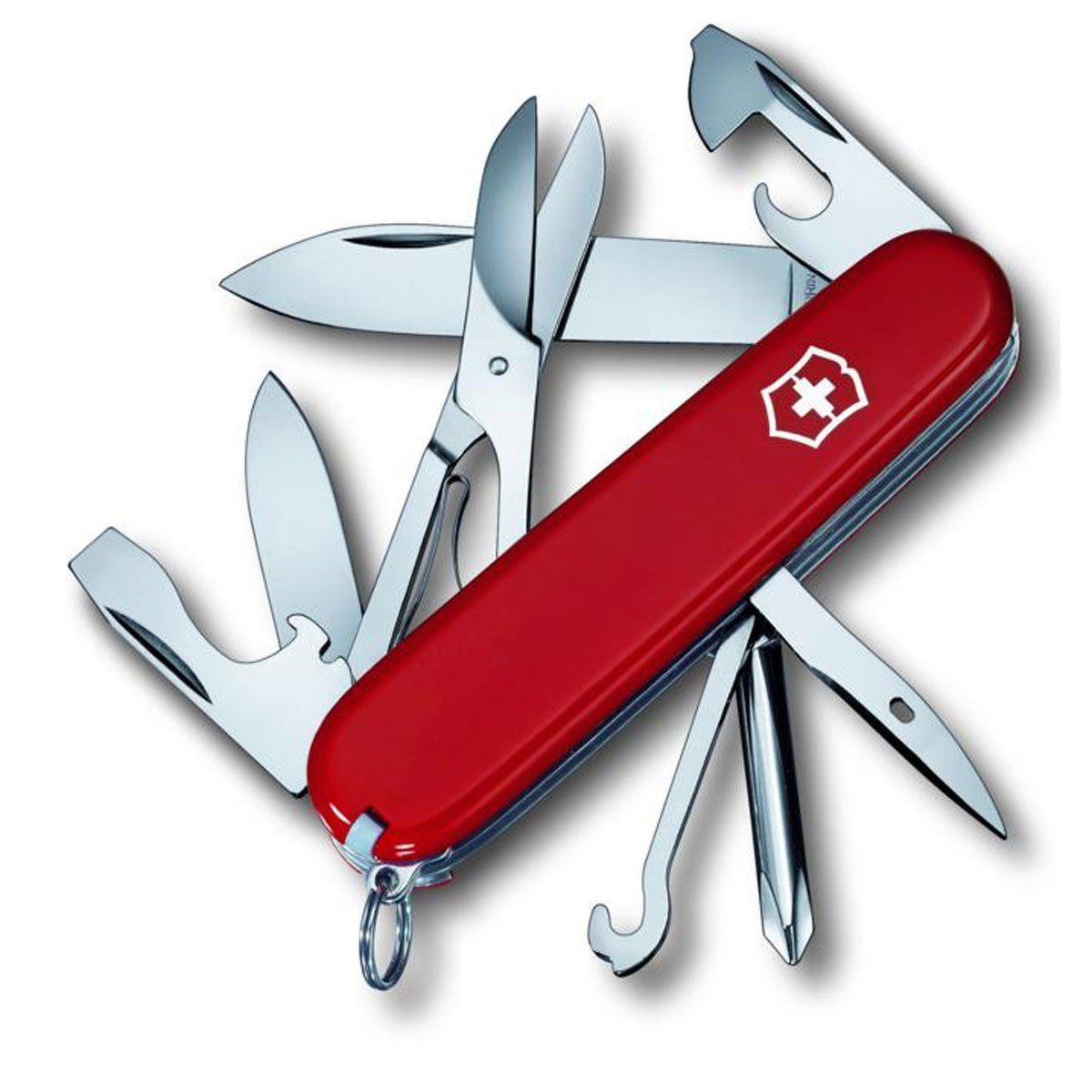 Victorinox Swiss Army Super Tinker Pocket Knife, Red,91mm