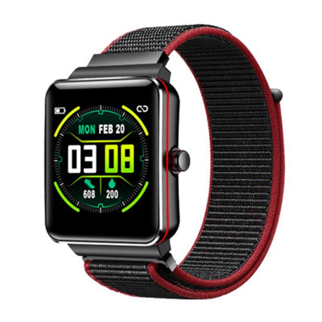 Amazon.com: NOMENI Smart Watch Fitness Tracker Color Touch ...