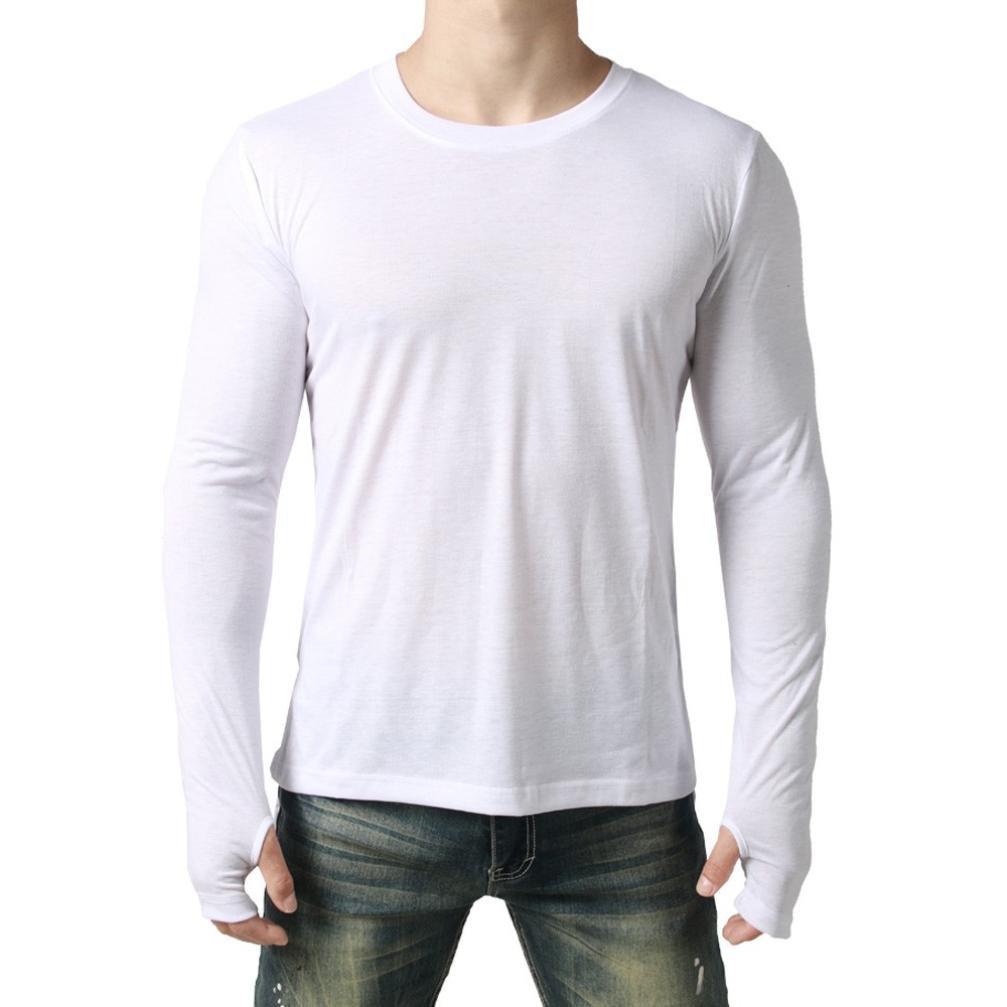 b2d3d3bd4fe7d Realdo Mens Long Asymmetry T-Shirt