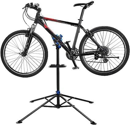 Pro Home Mechanic Folding Bicycle Cycle Bike Maintenance Repair Work Stand Rack.