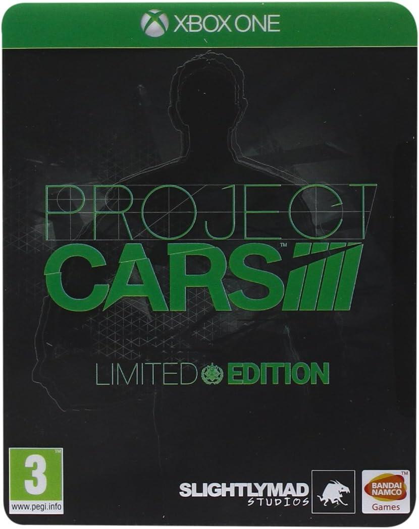 Namco Bandai Games Project CARS Limited Edition, Xbox One - Juego (Xbox One, Xbox One, Conducción, E (para todos)): Amazon.es: Videojuegos