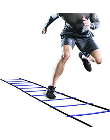 432083f78 GHB Pro Agility Ladder Agility Training Ladder Speed Flat Rung with  Carrying Bag