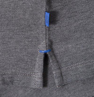 JOOP! Herren Polo-Shirt Baumwolle T-Shirt Meliert, Größe: L, Farbe: Blau