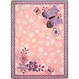 Joy-Carpets-Kid-Essentials-Infants-Toddlers-Flower-Fields-Rug-Multicolored-54-x-78