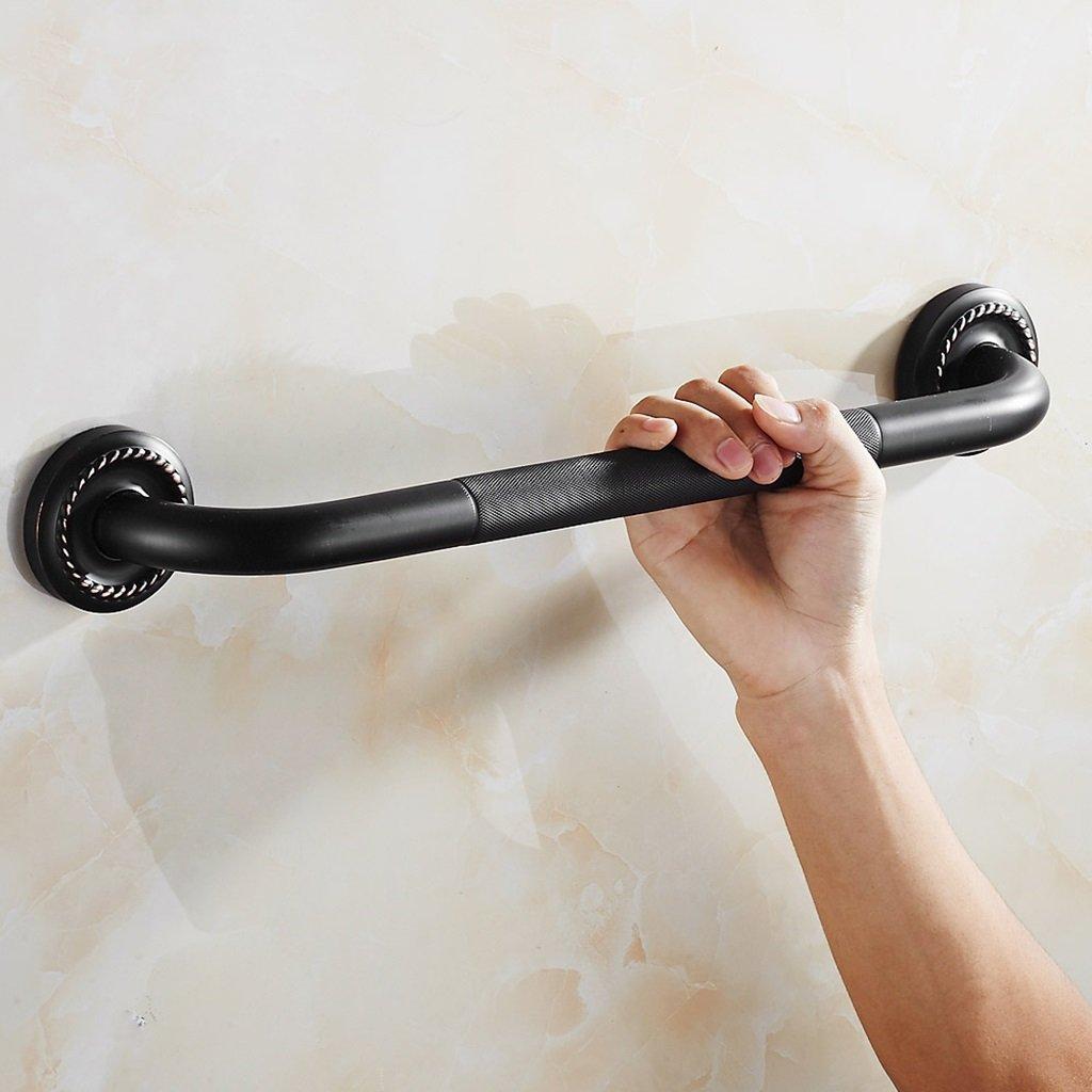 All-copper black bronze handicapped bathroom bathtub handrails safety handle bathroom stairs slip handle 49.5cm 19.5 inch