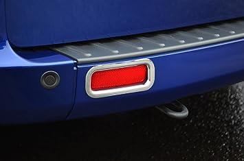Cubiertas de luz antiniebla para reflector trasero cromado para adaptarse a Transit Custom (2012 +): Amazon.es: Coche y moto