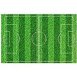 Disque Sucre Terrain de Football Match Décoration Gâteau 30x20cm - 000