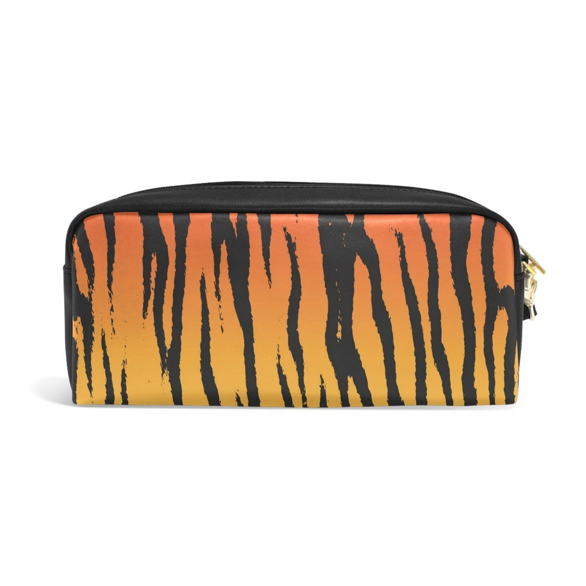 COOSUN Tiger Stripe Estuche Portátil de Cuero PU Estuche ...