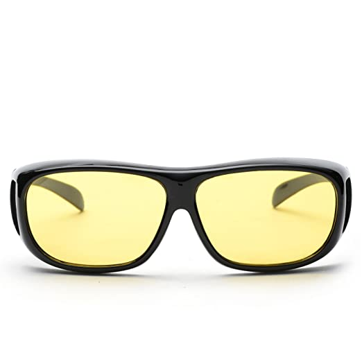 ca73fd7b4af Duduma Yellow Night Vision Polarized Sunglasses Glasses for Driving Fishing  Shooting Multicolor Frame Uv400 (Black Yellow
