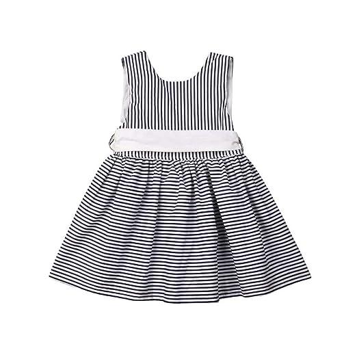 aede0239c93685 Amazon.com  mlpeerw Newborn Baby Girl Clothes One Piece Sleeveless ...