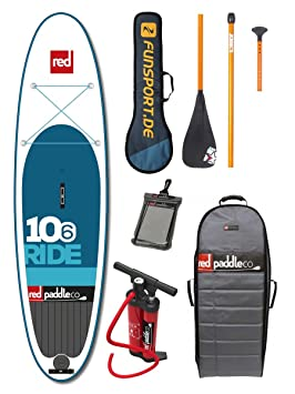 "Red Paddle Ride 106"" iSUP 2016 - Tabla para paddle board, incluye"