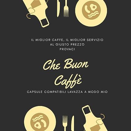 100 Capsule Cialde Che Buon Caffe Compatibili Lavazza A Modo Mio
