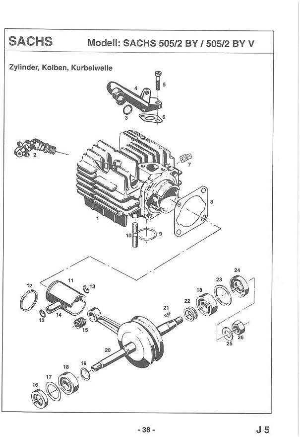 Hercules Tuning Kolben 2 Ring Prima 2 3 4 5 5s Mofa M 2 3 4 5 Mofa Sachs Auto