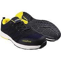 Goodyear GYSHU1560 calzado de trabajo, 7/41, negro/azul, 1