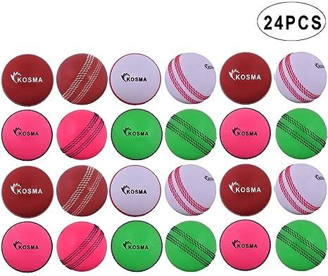 Wind ball Cricket Practice Indoor Training Coaching Balls Adults Children White