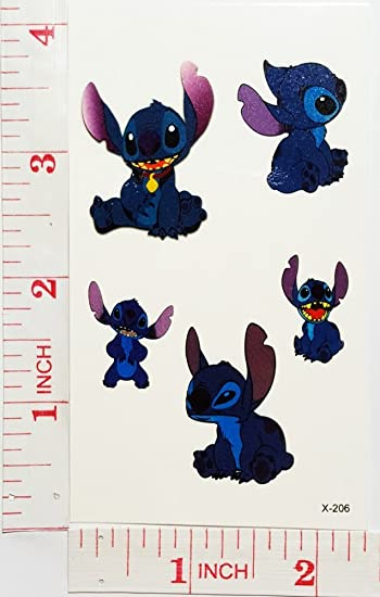 Amazon Com Disney Lilo Stitch Scrump Temporary Waterproof Tattoo