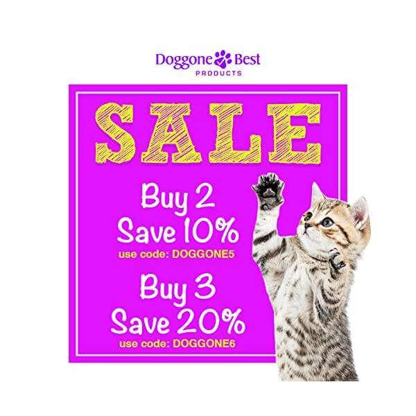 Doggone Best Products Cat Probiotics - Helps with Diarrhea and Constipation - All Natural Powder - Can Help Gas, Digestive Issues and Bad Breath - 8 oz - Made in The USA 2