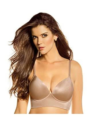 5103f1ae9 Leonisa Women s Support Wireless Sexy Push Up Bra at Amazon Women s  Clothing store  Bras