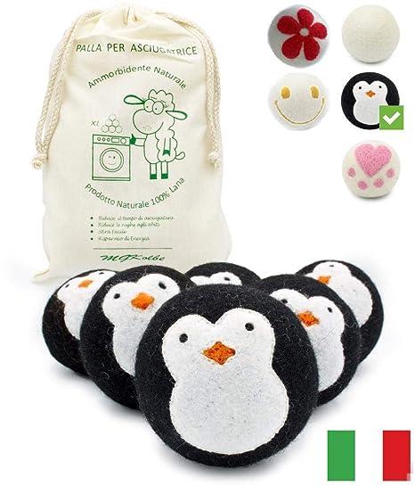 MGKolbe - Bola para secadora de lana 100%, hipoalergénica ...