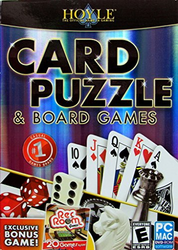 Encore Hoyle Card Puzzle & Board Games (PC) (Hoyle Puzzle And Board Games)