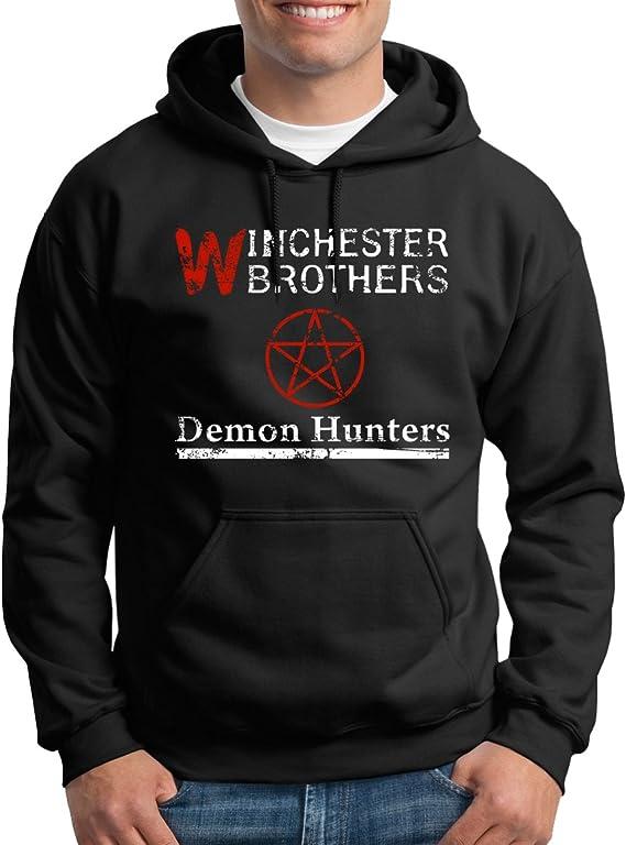 TShirt-People Winchester Demon Hunters - Sudadera con capucha para hombre