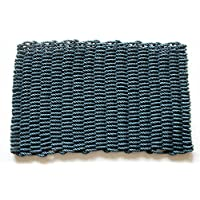 Geo Crafts PP Mariner Doormat, 18 by 30-Inch, Blue