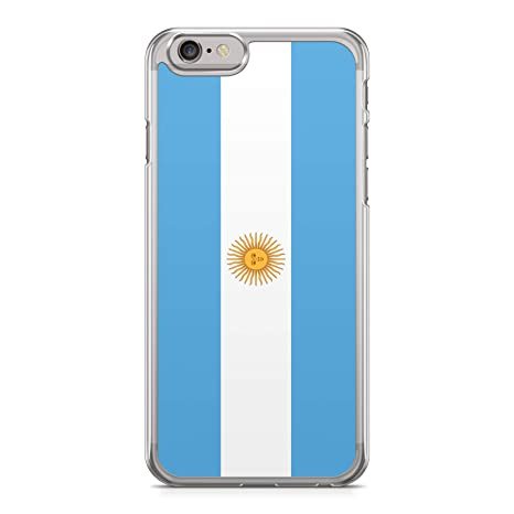 5b634706aac Funda Carcasa Bandera Argentina para iPhone 5 5S Silicona Transparente TPU  Flexible