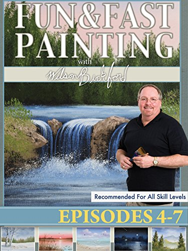 Free Fun and Fast Painting With Wilson Bickford Part 2