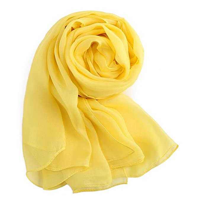 3f14b035157 MEISHINE® 180   110cm Mujer 100% Seda Fular Pañuelo Bufanda Estola Chal  Ideal for