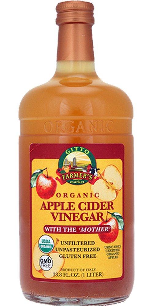 Gitto Organic Apple Cider Vinegar