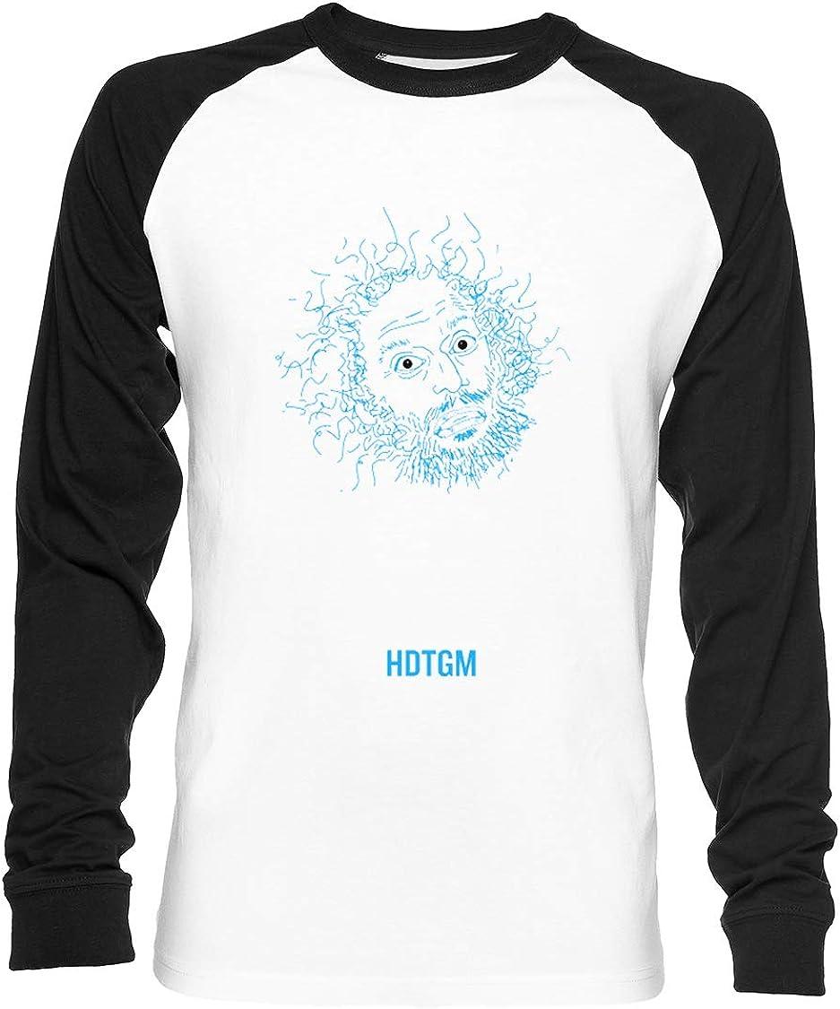 UN Jacob Escalera Guión - Cómo Hizo Esta Obtener Hecho Unisex Camiseta De Béisbol Manga Larga Hombre Mujer Blanca Negra: Amazon.es: Ropa y accesorios