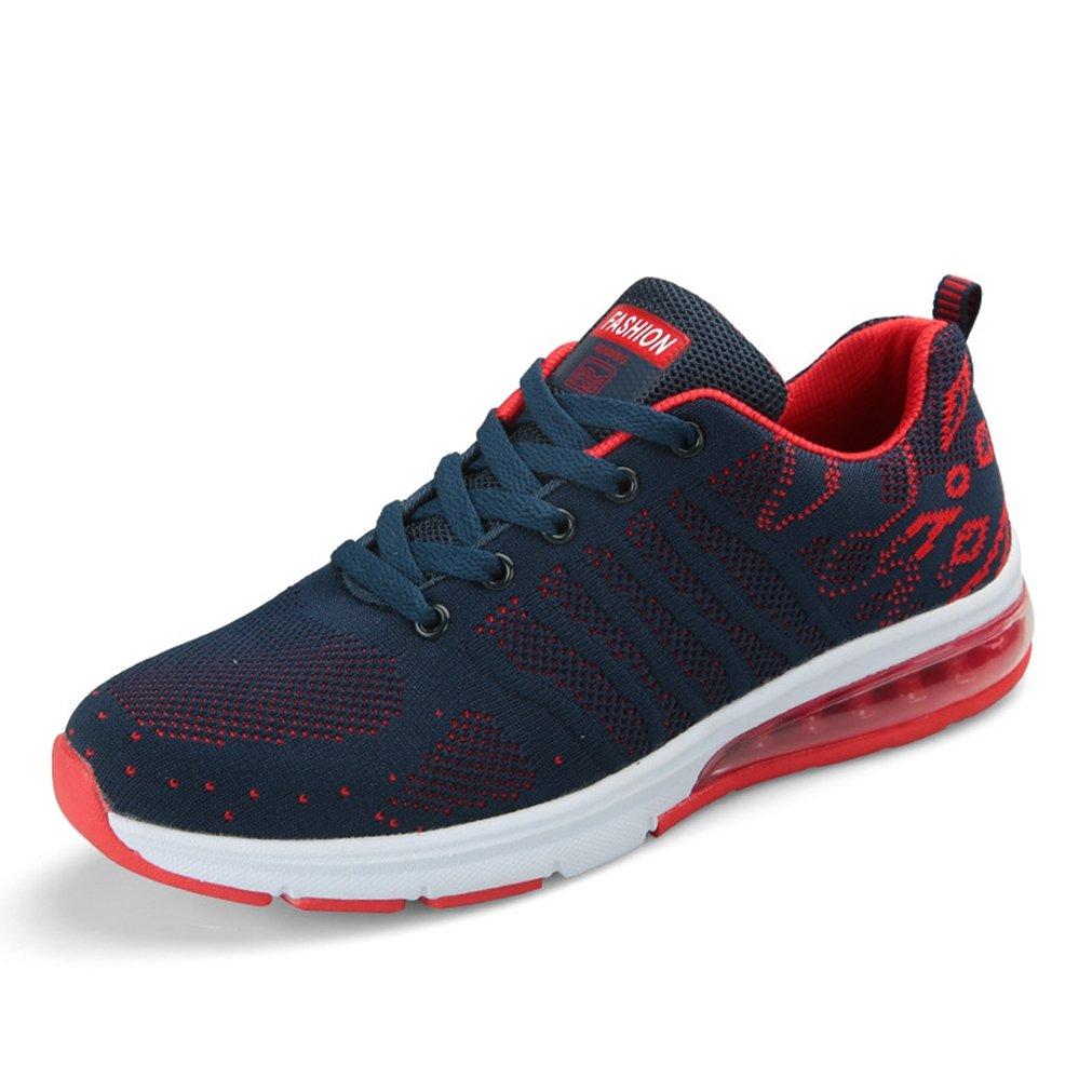 LFEU - botas de caño bajo Hombre 40 EU bleu foncé rouge